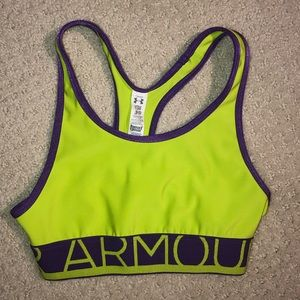 Girls under armor youth small sports bra